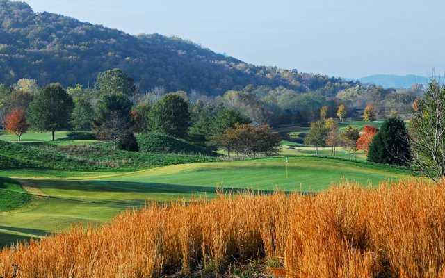 A view of a green at Vanderbilt Legends Club