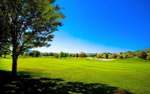 A view of a fairway at Vanderbilt Legends Club