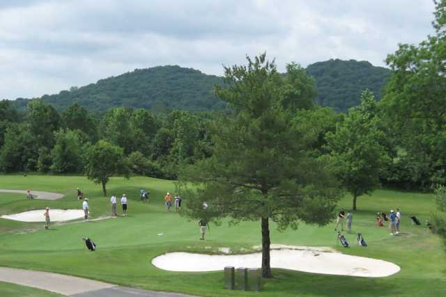 A view from Little Course at Conner Lane