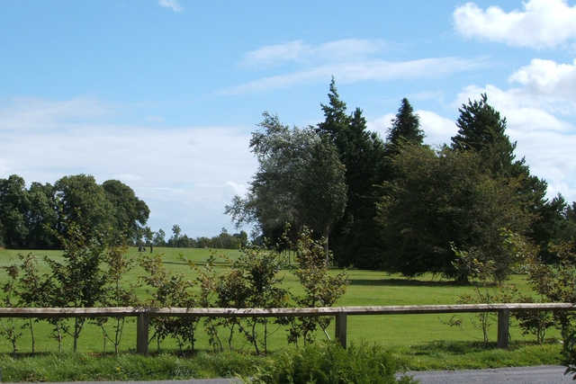 A sunny day view from Ballinasloe Golf Club