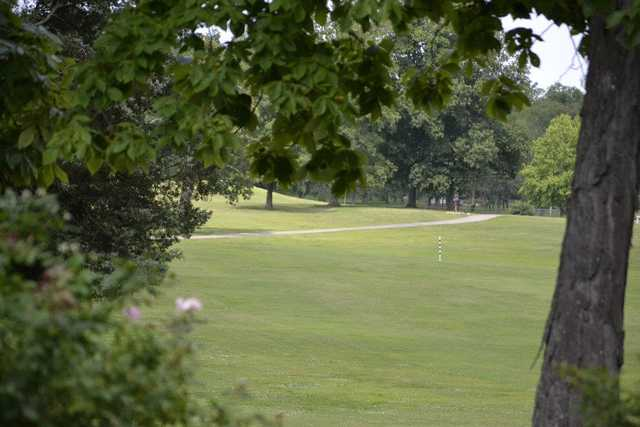 A view of a fairway at Lebanon Golf & Country Club