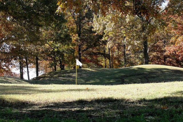 A view of a hole at Montgomery Bell State Park Golf Course