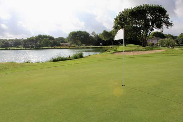 A view of a hole at Northcliffe Golf & Country Club