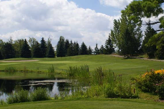 A view from a tee at Royal Stouffville Golf Course