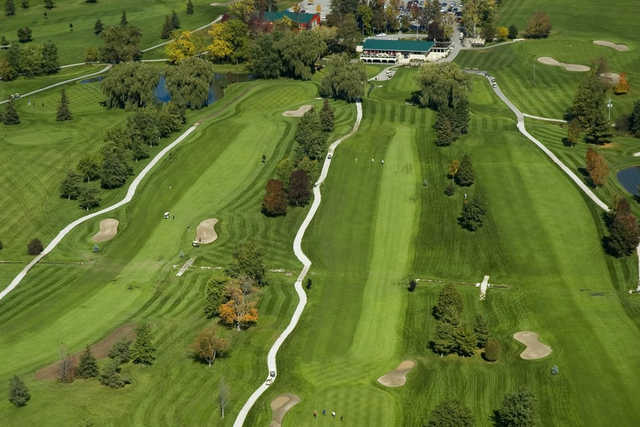 Aerial view from Hornby Glen Golf Course (AerialFocus)