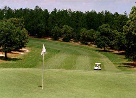 View of hole 7 at Hidden Valley Golf Course