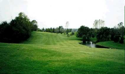A view of a fairway at Mount Elgin Golf Club