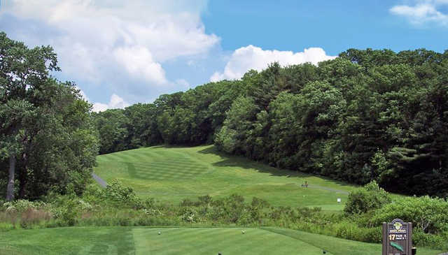 A view from men's tee #17 at West Point Golf Course