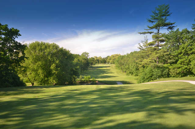 A warm sunny day from Wyldewood Golf and Country Club