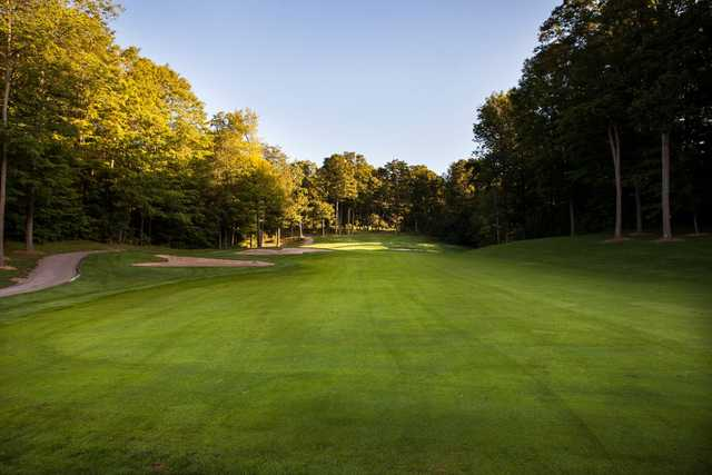 A view from a fairway at Nobleton Lakes Golf Club