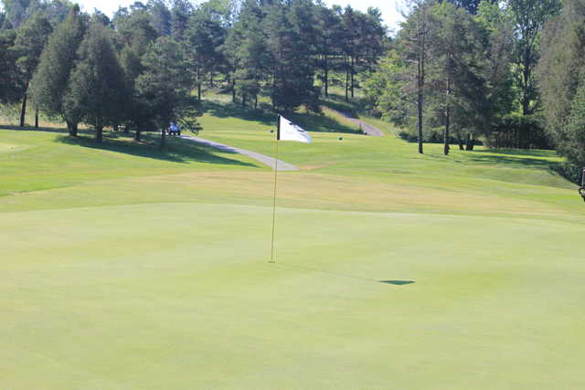 A view of a green at Sleepy Hollow Country Club