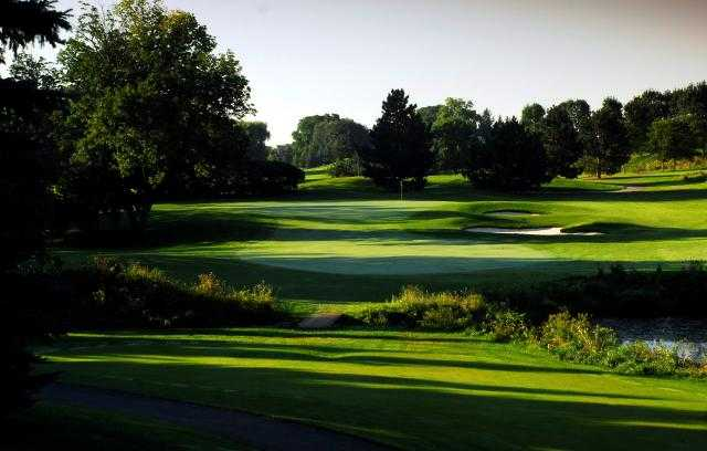 A view of a fairway at Cherry Downs Golf and Country Club