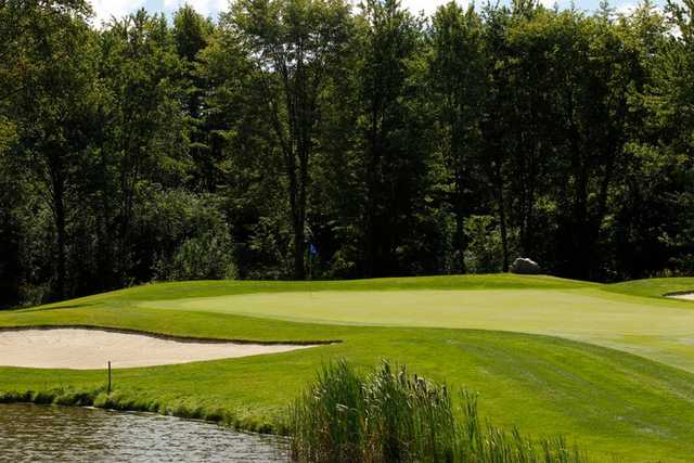 A view of a green at Watson's Glen Golf Course