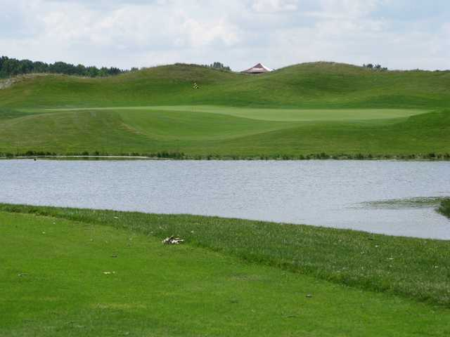 Sanctuary Lake GC: View from the 9th tee
