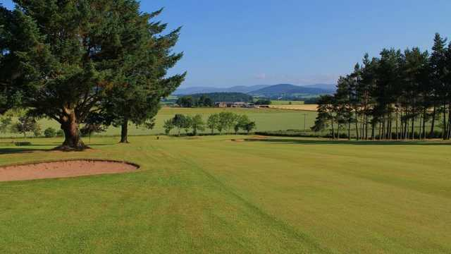 A view of the 4th fairway at Kirriemuir Golf Club