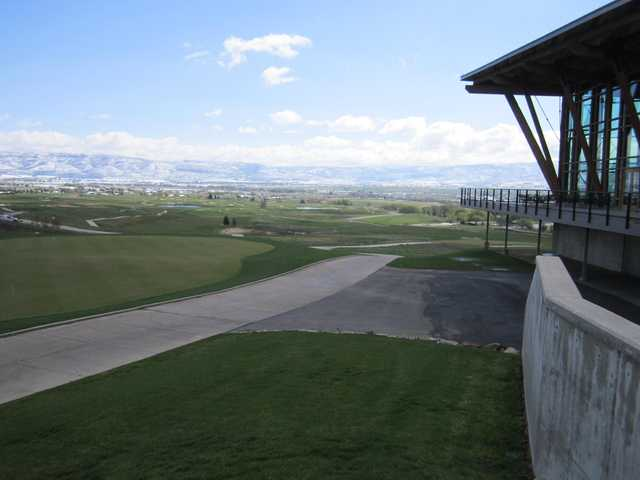 A view from Soldier Hollow Golf Course