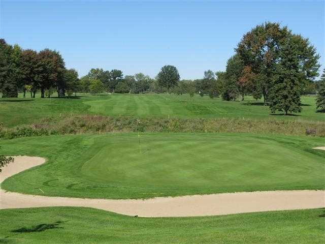 Sylvan Glen: Scenic view of the 18th hole