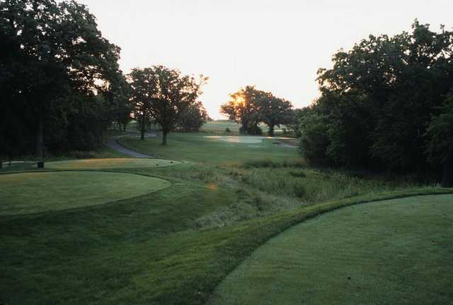 A view from a tee at Countryside Golf Club