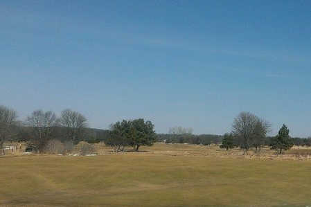 A view from Boone Creek Golf Course