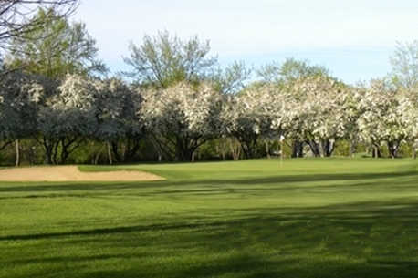 A spring view from McHenry Country Club