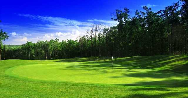 A view of hole #15 at Jack Frost National Golf Club