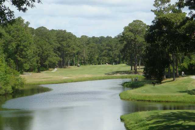 A view over the water from Star Hill Golf & Country Club