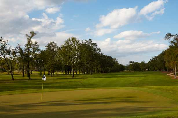 A view from Southern Trace Country Club.