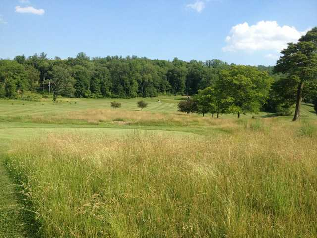 A view of the 6th fairway at Water Gap Country Club