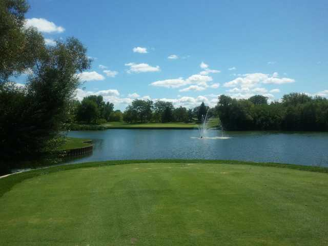 A view from tee #11 at Steeple Chase Golf Club