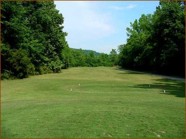 A view from a tee at Quail Creek Golf Course