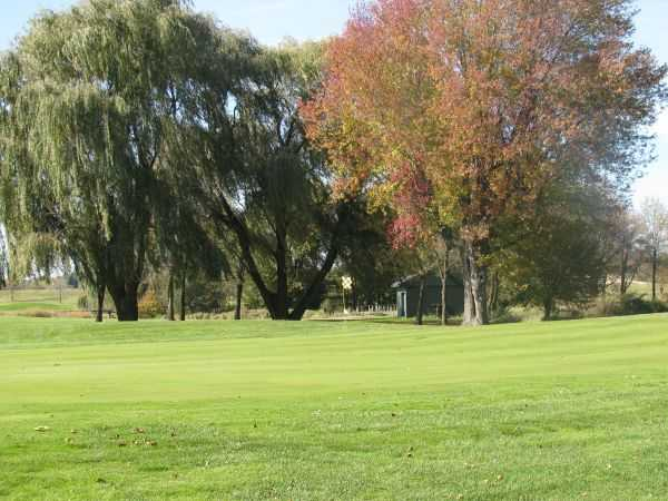 A view of a green at Blackstone Creek Golf Club