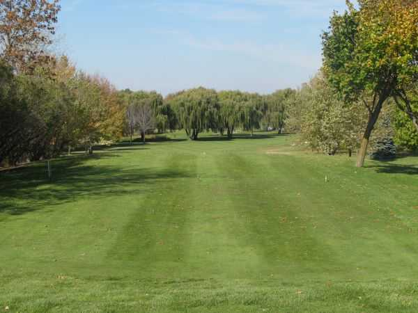A view of a fairway at Blackstone Creek Golf Club
