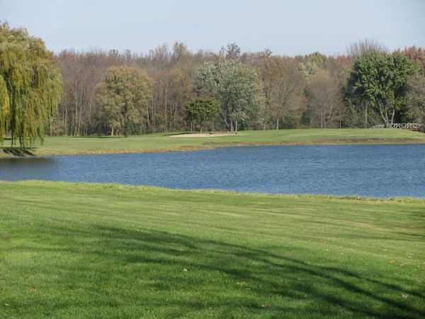 A view over the water from Blackstone Creek Golf Club