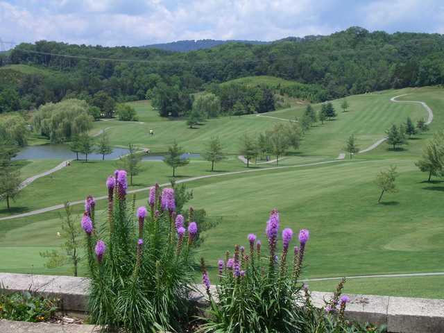 A view from Baileyton Golf Club