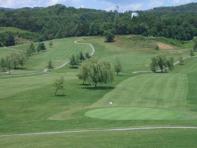 A view of a hole at Baileyton Golf Club