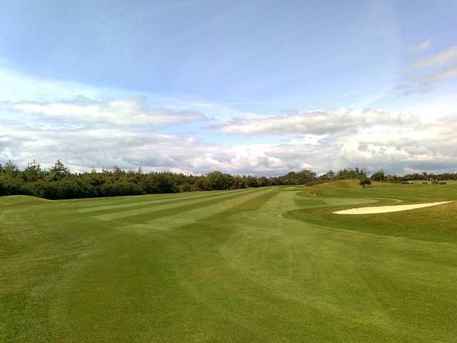 A view from a fairway at Balcarrick Golf Club