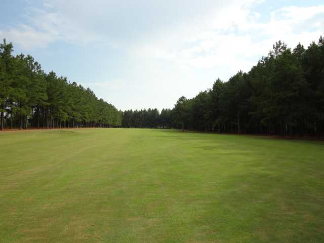 A view from a fairway at Southern Gayles Golf Course