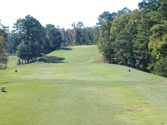 A view from the 1st tee at Gunter's Landing Golf Club