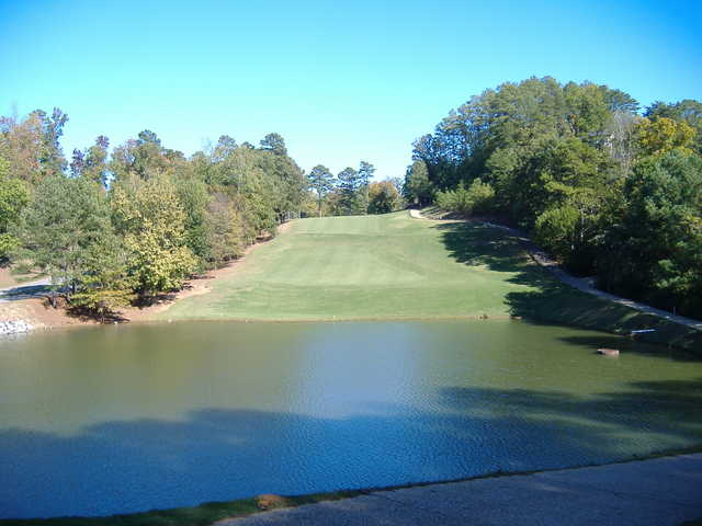 A view of the 7th fairway at Gunter's Landing Golf Club