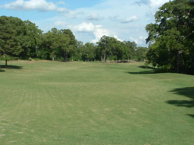 A view of a fairway at First Tee of Central Arkansas