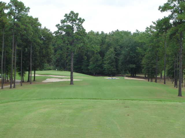 A view of the 10th green at Country Club of Arkansas
