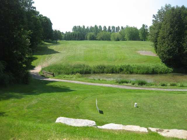 A view from a tee at Newcastle Golf Course