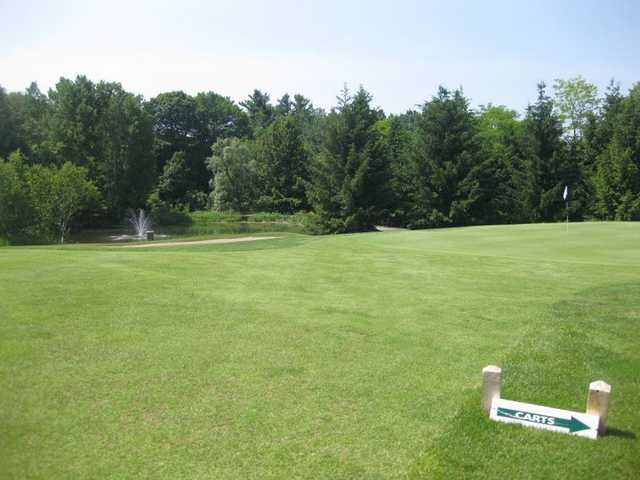 A view of a hole at Newcastle Golf Course