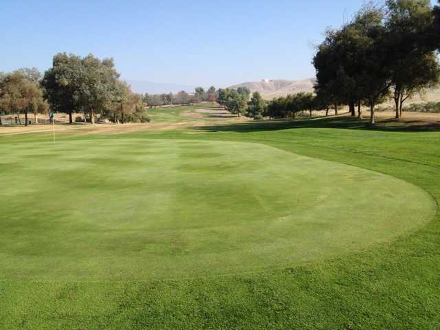 A view of a green at Rio Bravo Country Club