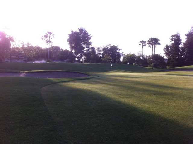 A view of a hole at Rio Bravo Country Club