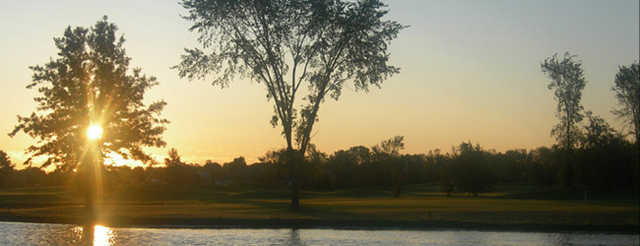 Sunrise at Cardinal Lakes Golf Club