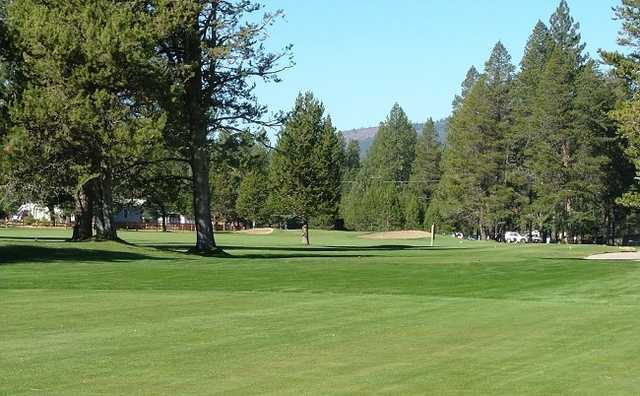 A view from Ponderosa Golf Course