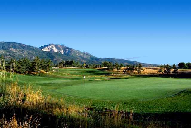 A view of a green at Toiyabe Golf Club