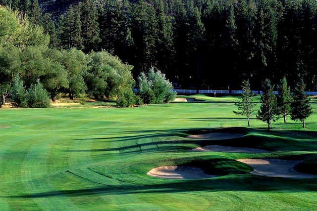 A view from Toiyabe Golf Club