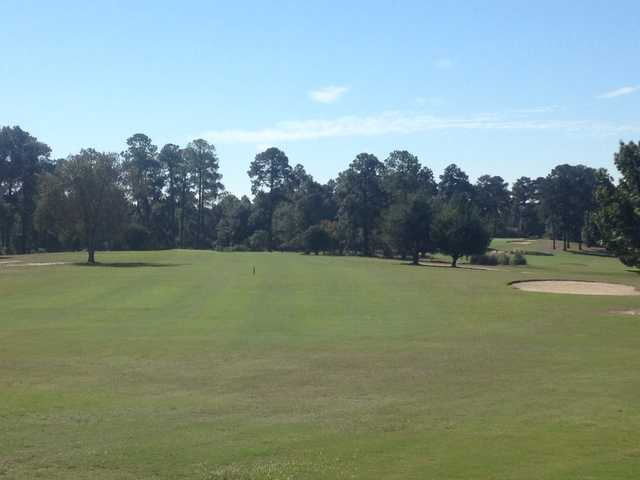A view of the 2nd fairway at Bowden Golf Course